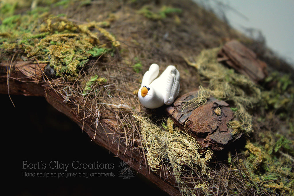 Nativity - Dove - Bert's Clay Creations