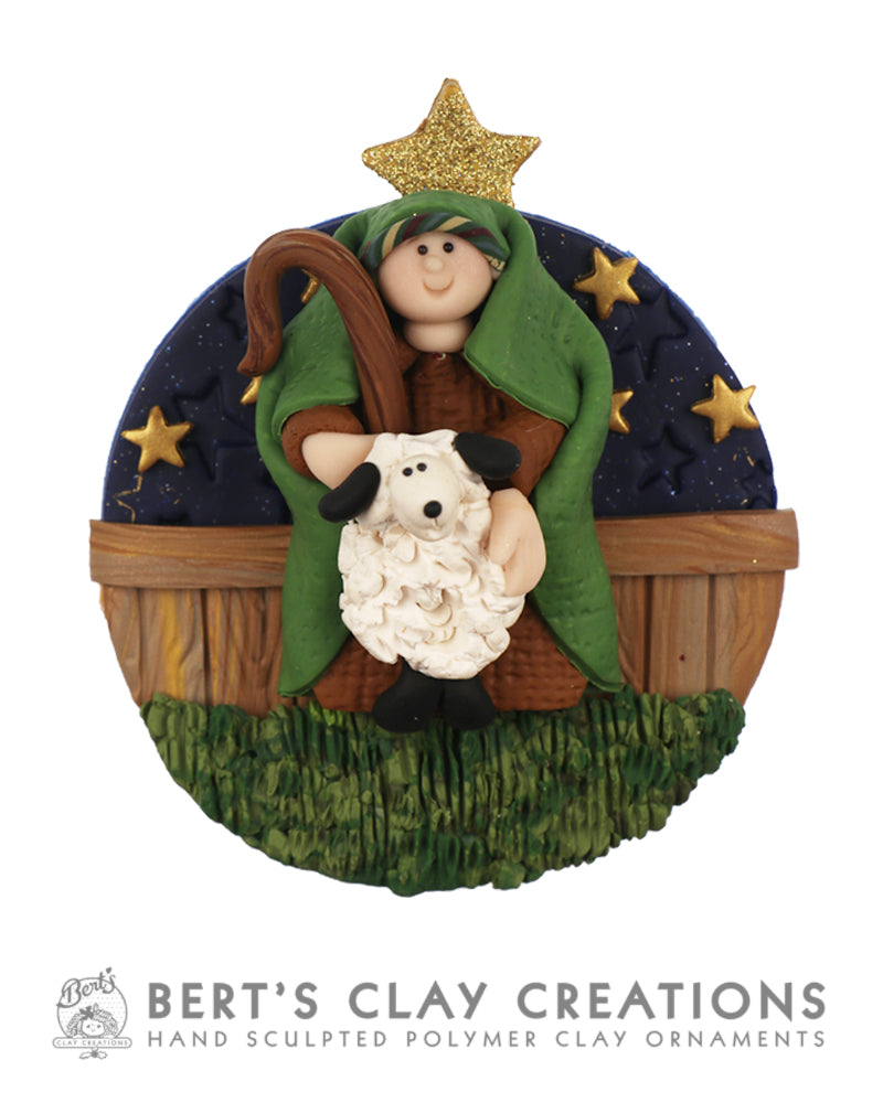 Hallelujah - 2019 Shepherd Ornament