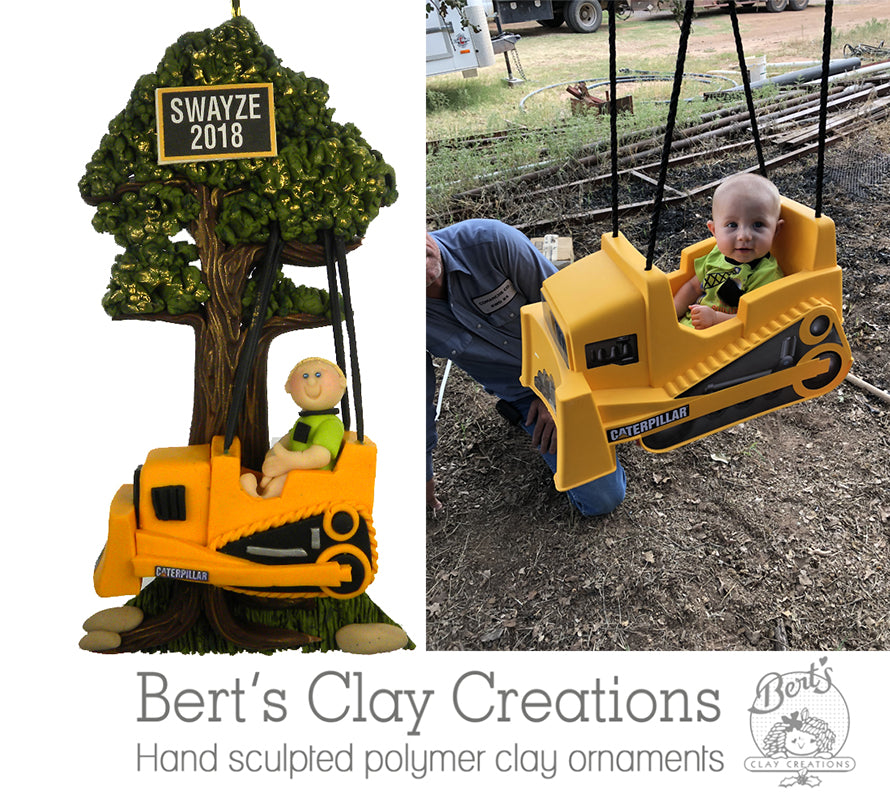 CUSTOM Child Ornament Submission Quote - Bert's Clay Creations