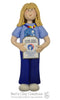 American Heritage Girl PATHFINDER Ornament - Bert's Clay Creations