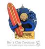 Surfer / Surfing ornament