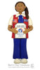 American Heritage Girl TENDERHEART Ornament - Bert's Clay Creations