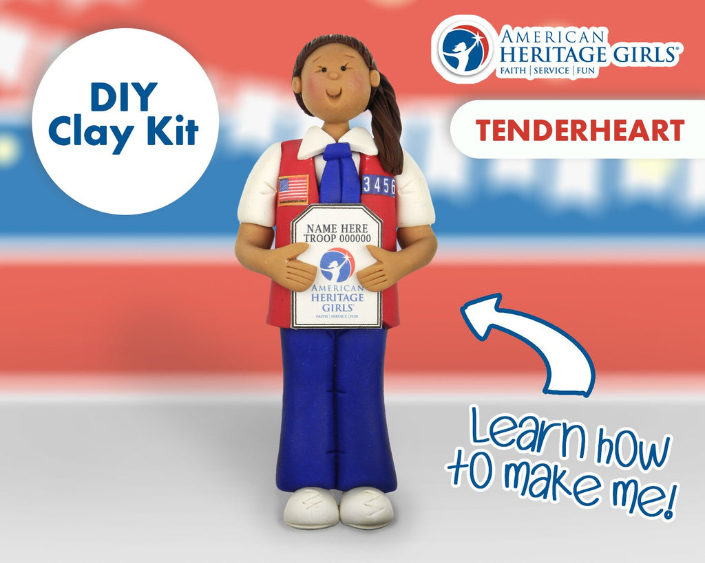 American Heritage Girls - Tenderheart DIY Clay Kit