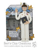 USNA Graduate Ornament - Bert's Clay Creations