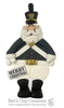 West Point Plebe Santa Ornament