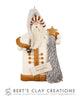White Christmas - St. Nicholas Ornament
