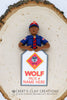 BSA - Wolf Scout Ornament (Bust Version) - Bert's Clay Creations