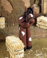 Nativity - Horse - Bert's Clay Creations