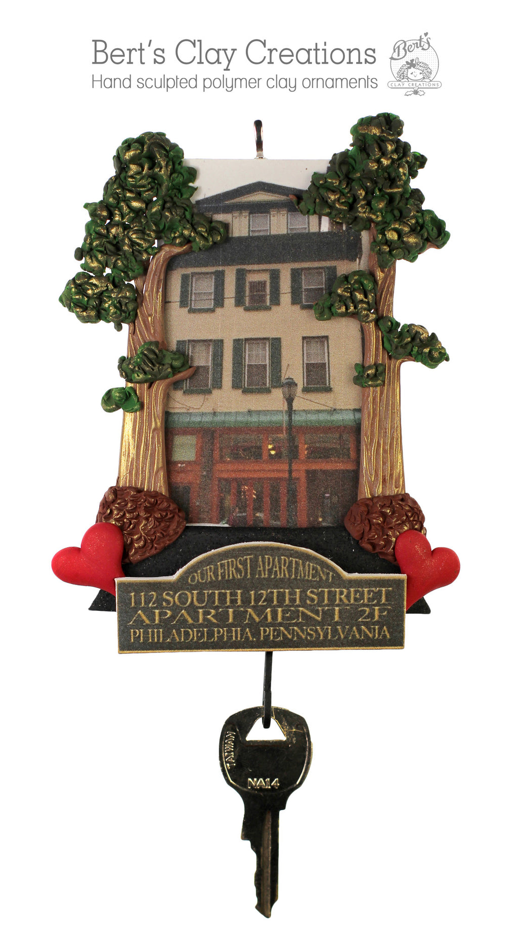 Home Ornament - Bert's Clay Creations