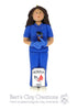 Phlebotomist Ornament - Full body