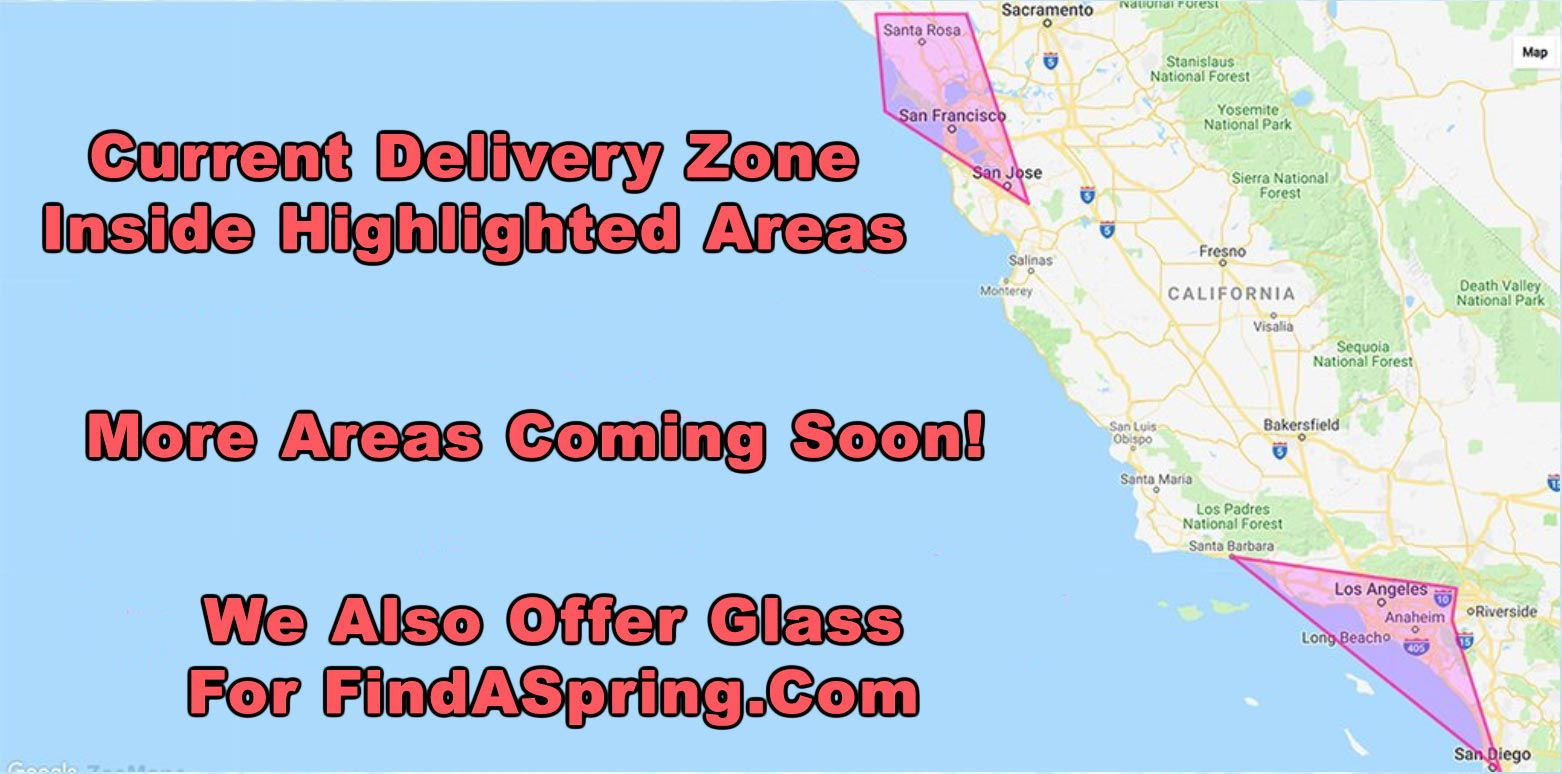 6c8ad21344 We're always expanding to new areas for our spring water delivery service.  Join our email list if you'd like updates on new areas of service.