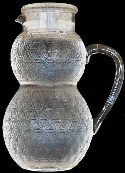 Half Gallon Glass Pitcher