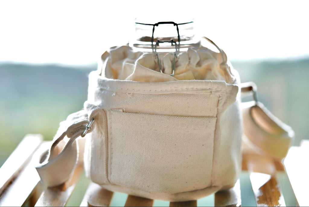 1 Litre Orb Insulated Organic Cotton Bag