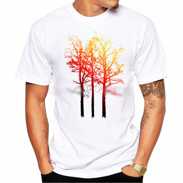 Sunset Tree Men's T-shirt - Ace Gift Shop