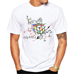 Cool Rubik cube Printed T-Shirt For Men