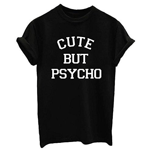 Cute But Psycho T-Shirt For Women