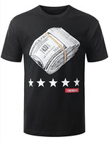 Big Money Roll T-Shirt Men's Hip Hop - Ace Gift Shop