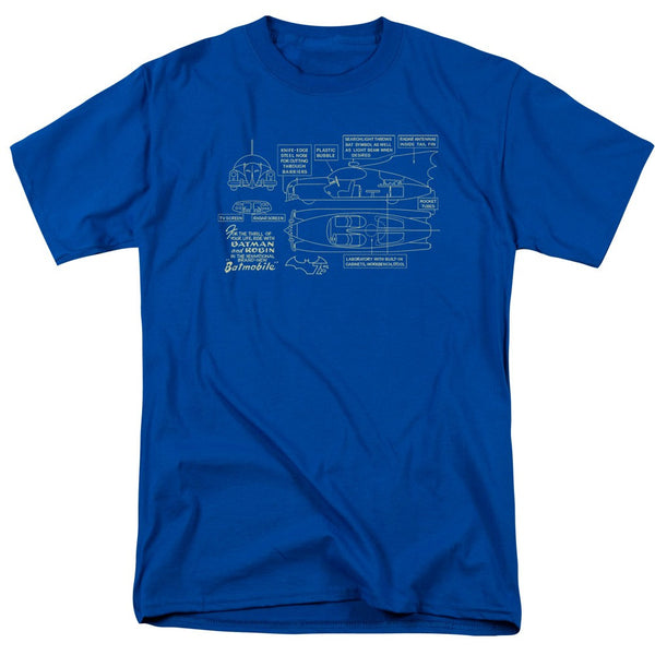 Blue BATMOBILE T-Shirt