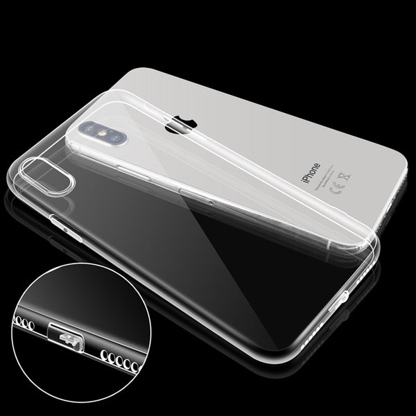 iPhone Clear Soft  Silicone Case Cell phone cover Protect
