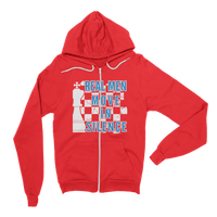Real Men Hoodie Sweater Chess Player