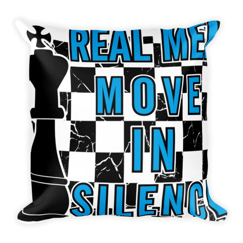 Real Men Chess Player Home Decor Pillow - Ace Gift Shop