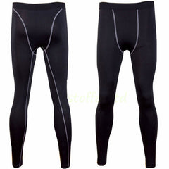 Mens Sport COMPRESSION Base Layer Under Pants Fitness Jogging Sport Gym Tight Leggings