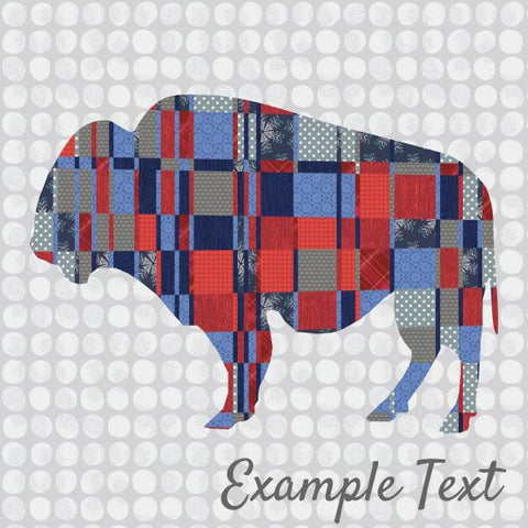 Burly Bison Quilt - Custom Quilts by Stitched
