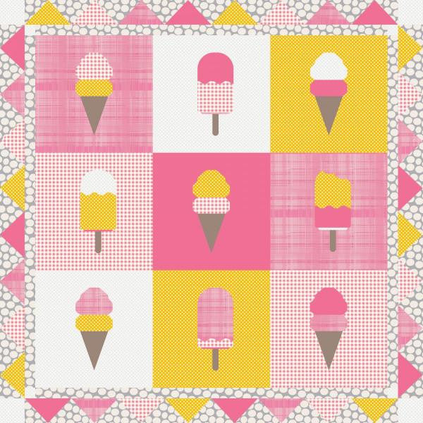 Cool Treats Ice Cream Quilt