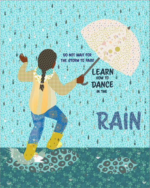 Dancing In The Rain Quilt