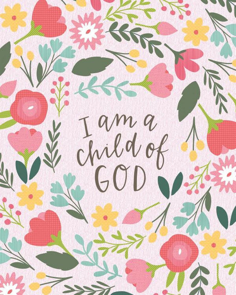 I Am a Child of God Quilt - Custom Quilts by Stitched
