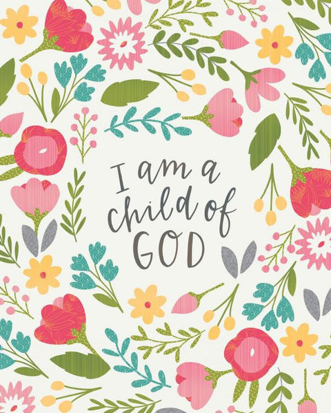 I Am a Child of God Quilt
