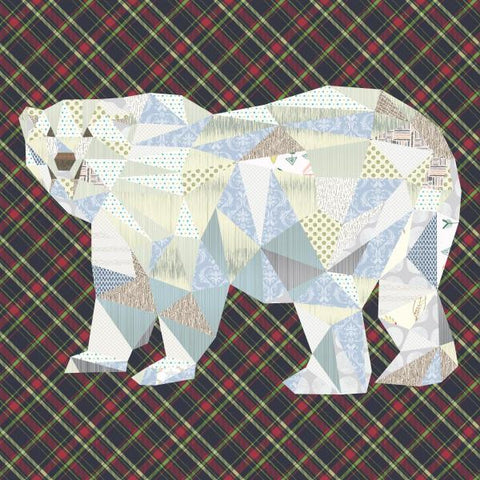 Boris the Polar Bear Quilt - Custom Quilts by Stitched