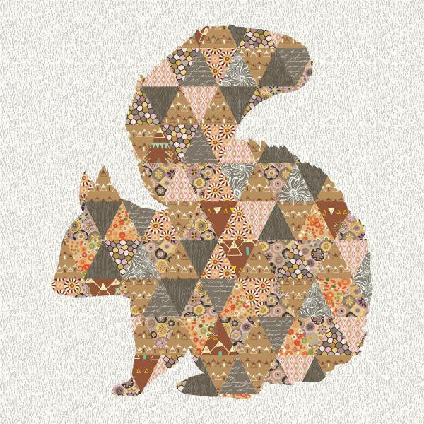 Shy Squirrel Quilt - Custom Quilts by Stitched