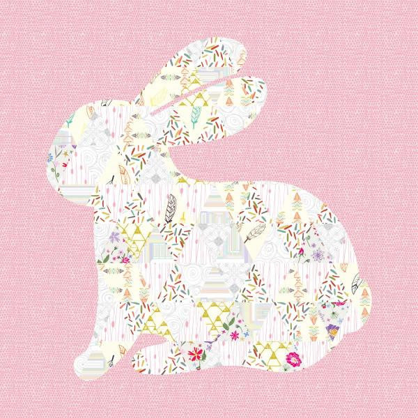 Snuggle Bunny Quilt - Custom Quilts by Stitched