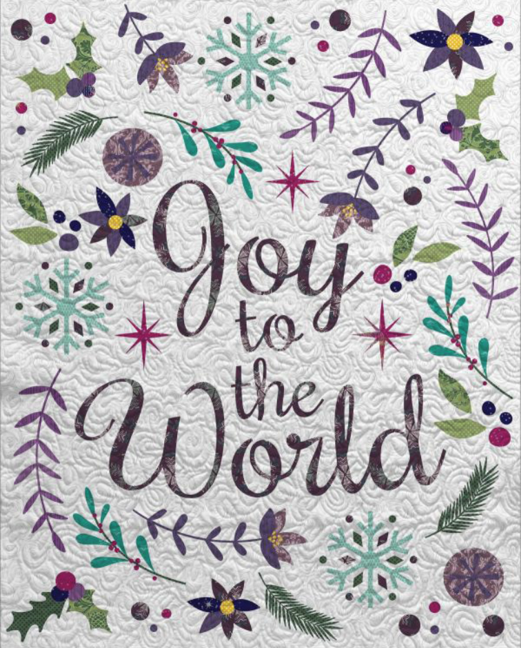 Joy to the World Christmas Quilt