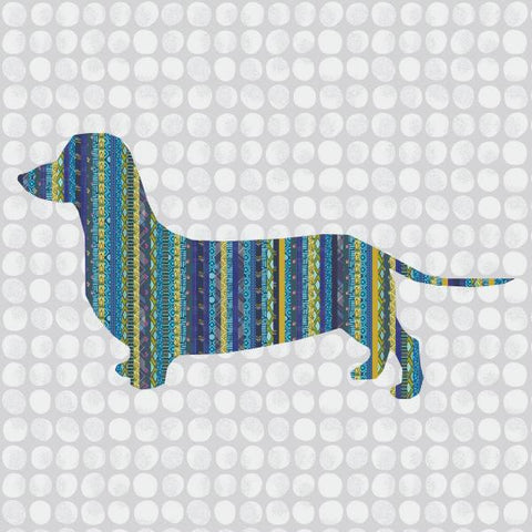 Dachsund Weiner Dog Quilt - Custom Quilts by Stitched