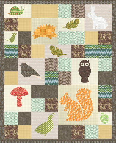 Wild Critters Quilt - Custom Quilts by Stitched