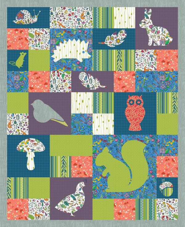 Wild Critters Quilt