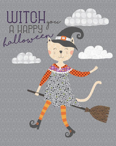 Witch You A Happy Halloween Quilt - Custom Quilts by Stitched