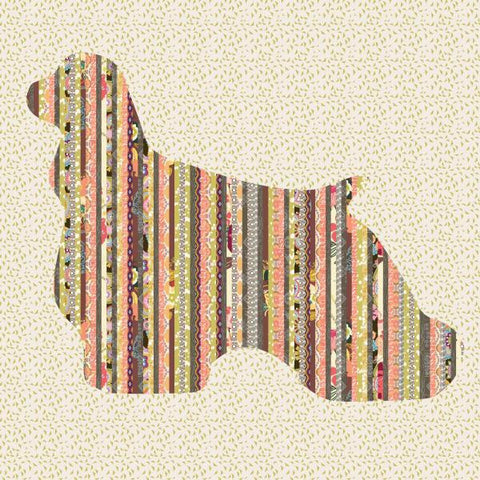 Winston - Cocker Spaniel Dog Quilt