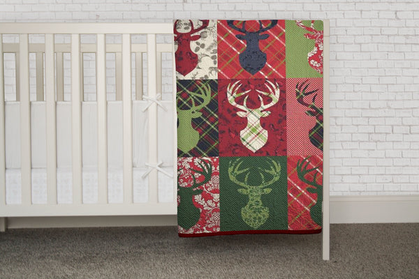 Big Game - Deer Quilt with Antlers