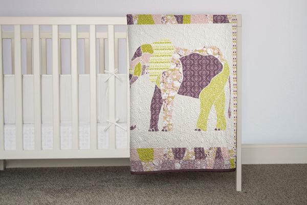 E is for Elephant Quilt