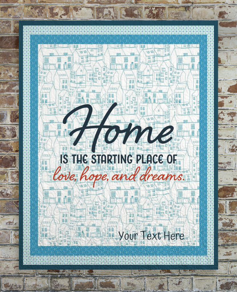 Love, Hope and Dreams Quilt