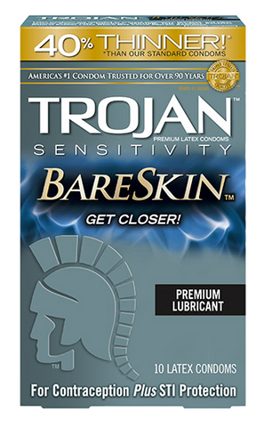 Trojan Bareskin Condoms - Allcondoms.com