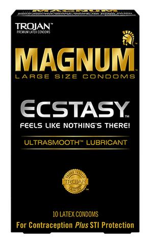 Trojan Magnum Ecstasy condoms - Allcondoms.com