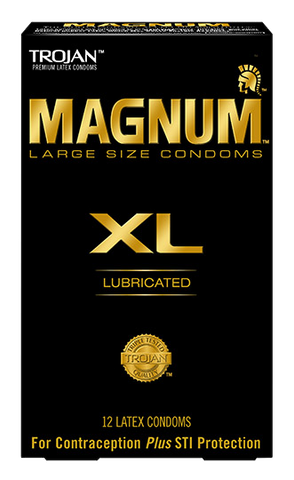 Trojan Magnum XL condoms - Allcondoms.com
