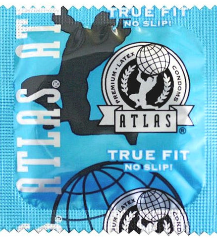 Atlas True Fit Condoms - Allcondoms.com