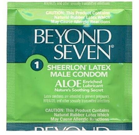 beyond seven aloe condoms