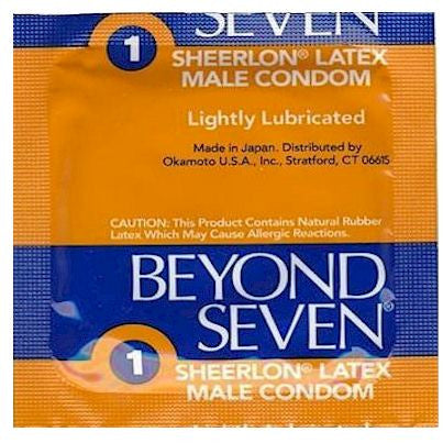 Beyond Seven Condoms by Okamoto