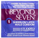Beyond Seven Studded Condoms - Allcondoms.com